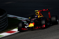 Max Verstappen, Red Bull Racing RB12, mit Cockpitschutz Halo