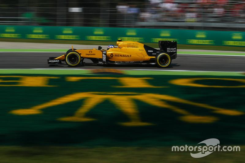 20: Jolyon Palmer, Renault Sport F1 Team RS16