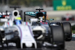 Льюис Хэмилтон, Mercedes AMG F1 W07 Hybrid, Фелипе Масса, Williams FW38