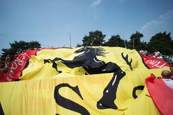 Большой баннер для Ferrari