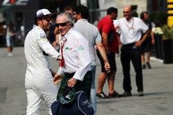Fernando Alonso, McLaren met Jackie Stewart