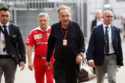 Sergio Marchionne,, Ferrari President and CEO of Fiat Chrysler Automobiles