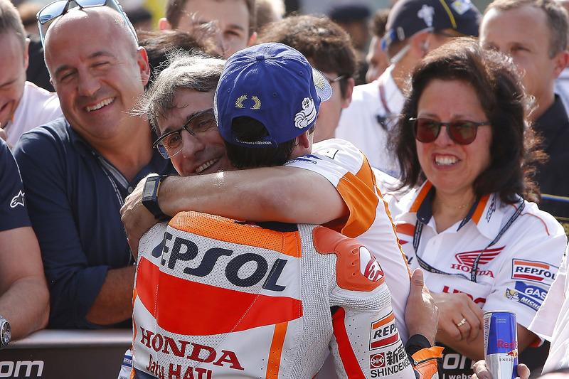 Il vincitore della gara Dani Pedrosa, Repsol Honda Team