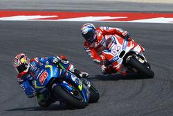 Maverick Viñales, Team Suzuki Ecstar MotoGP; Andrea Dovizioso, Ducati Team