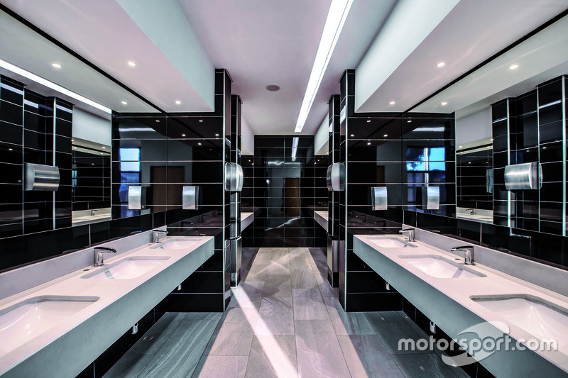 Toiletten im Konferenzzentrum