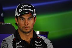 Pressekonferenz:Sergio Perez, Sahara Force India F1