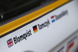 #98 Rowe Racing BMW M6 GT3: Tom Blomqvist, Martin Tomczyk, Stef Dusseldorp