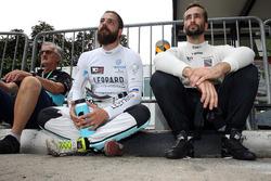 Stefano Comini, Leopard Racing, Volkswagen Golf GTI TCR e Mikhail Grachev, West Coast Racing, Honda Civic TCR