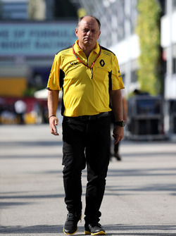 Frederic Vasseur, Renault Sport F1 Team, Racing Director