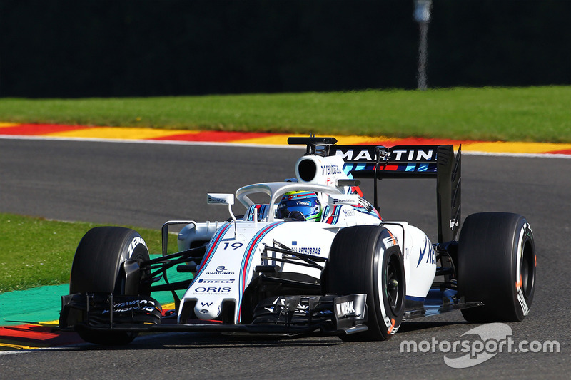 Williams FW38, halo in teamkleuren