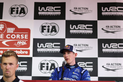 Elfyn Evans, M-Sport Ford Fiesta R5 at the Press Conference