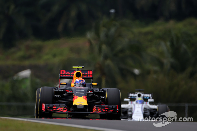 3: Max Verstappen, Red Bull Racing
