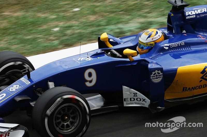 17: Маркус Ерікссон, Sauber C35