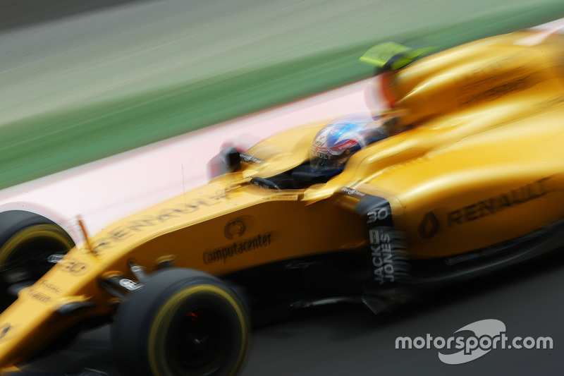 19: Джоліон Палмер, Renault Sport F1 Team RS16