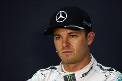Nico Rosberg, Mercedes AMG F1 nella conferenza stampa FIA