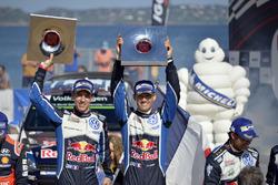 Ganadores Sébastien Ogier, Julien Ingrassia, Volkswagen Polo WRC, Volkswagen Motorsport