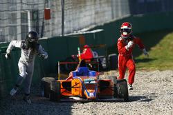 Oliver Söderström, Mücke Motorsport und Robin Brezina, Robin Brezina