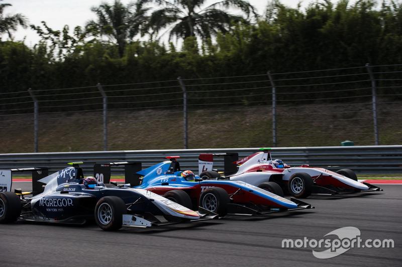 Steijn Schothorst, Campos Racing, Arjun Maini, Jenzer Motorsport et Nyck De Vries, ART Grand Prix