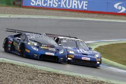 #66 Attempto Racing Team, Lamborghini Huracán GT3: Emil Lindholm, Andre Gies, #13 RWT Racing, Corvette Z06.R GT3: Remo Lips, Sven Barth