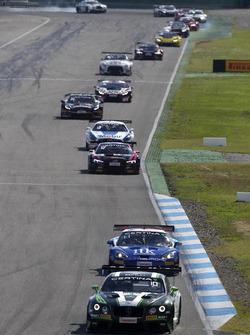#9 Bentley Team ABT, Bentley Continental GT3: Andreas Weishaupt, Marco Holzer