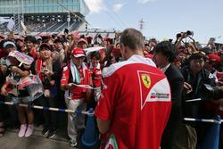 Себастьян Феттель, Ferrari із уболівальниками
