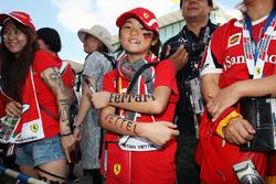 Ein Fan von Sebastian Vettel, Ferrari