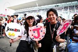 Fans von Jenson Button, McLaren