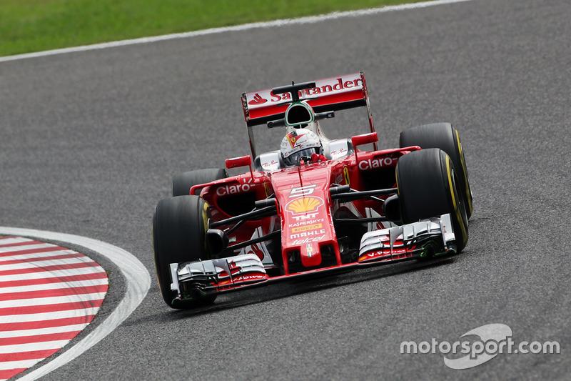 6. Sebastian Vettel, Ferrari SF16-H