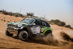 #301 MINI ALL4 Racing: Yazeed Al-Rajhi, Timo Gottschalk