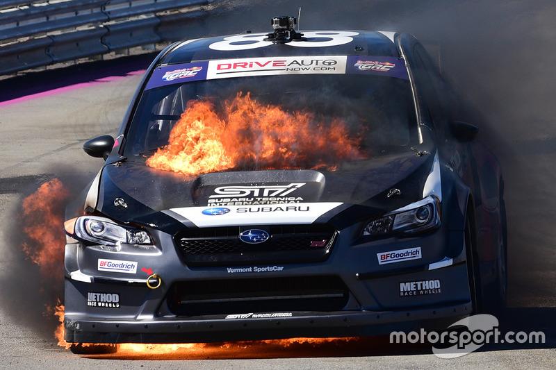 10. Toshihiro Arai, Subaru en llamas