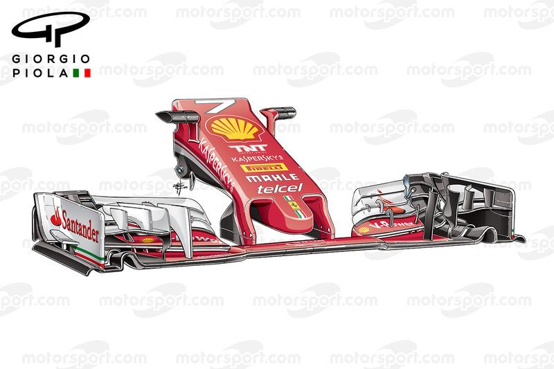 Ferrari SF16-H, il nuovo muso del GP della Malesia