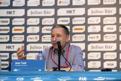 جان تود، رئيس الإتحاد الدولي لرياضة السيارات
