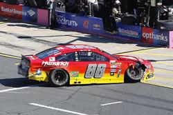 Alex Bowman, Hendrick Motorsports Chevrolet, nach Crash