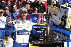 Il vincitore della gara Jimmie Johnson, Hendrick Motorsports Chevrolet