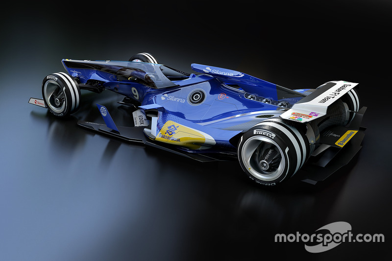 Sauber 2030 diseño fantasy
