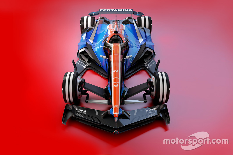 Концепт Manor Racing 2030