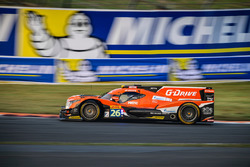 #26 G-Drive Racing, Oreca 05 - Nissan: Roman Rusinov, Alex Brundle, Will Stevens