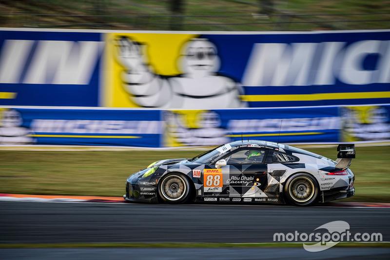 5. LMGTE Am: #88 Porsche 911 RSR: Khaled Al Qubaisi, David Heinemeier Hansson, Patrick Long