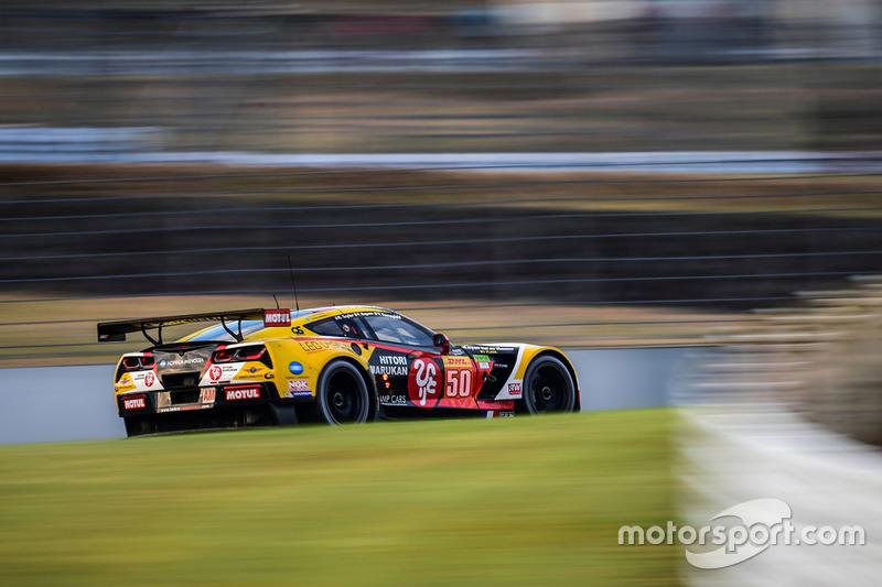 6. LMGTE Am: #50 Corvette C7.R: Ricky Taylor, Yutaka Yamagishi, Pierre Ragues