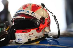 #78 KCMG Porsche 911 RSR: Joël Camathias helmet