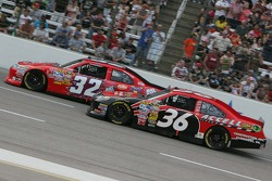 Ken Schrader, Stoddard Ford and Dave Blaney, Tommy Baldwin Racing Chevrolet