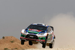 Яри-Матти Латвала и Микка Анттила, Ford Fiesta RS WRC, BP Ford Abu Dhabi World Rally Team