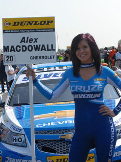 Caroline Hall, Silverline Chevrolet Grid Girl