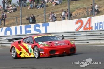 #71 AF Corse Ferrari F430: Robert Kauffman, Michael Waltrip, Rui Aguas