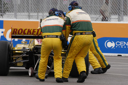 Timo Glock in trouble