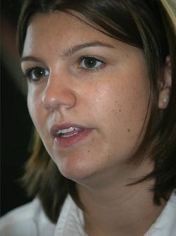 Pre-event press conference: Katherine Legge