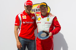 F430 podium: third place Guy Leclerc with Marc Gene