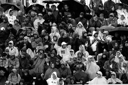Montréal fans brave the difficult weather conditions