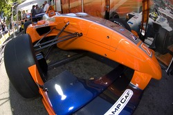 Display of the new 2007 Panoz DP01 chassis