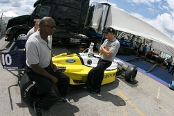 RuSPORT crew members at tech inspection